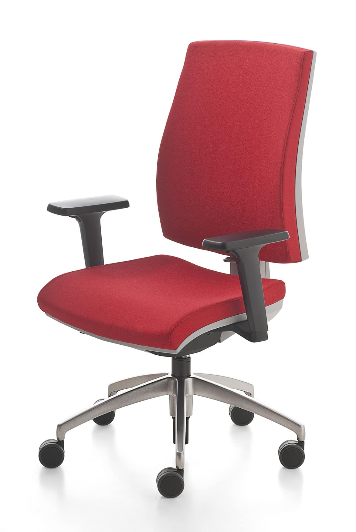 Computer Chair Back Support Swivel Office Chair With Adjustable Lumbar Support