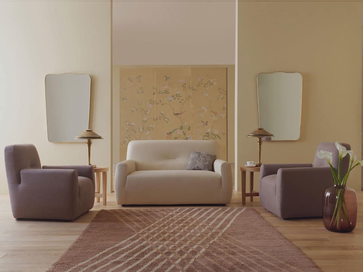 Poltrone per salotto poltrone ufficio direzionali e for Poltrone moderne