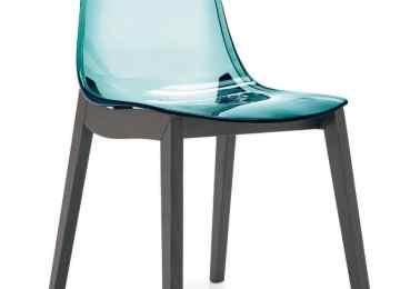Sedie plastica trasparente sedia in plastica per cucina ed esterni