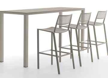 Tavoli In Alluminio | Tavolo Keyo E Sedie Leyla Tavoli A Prezzi Scontati