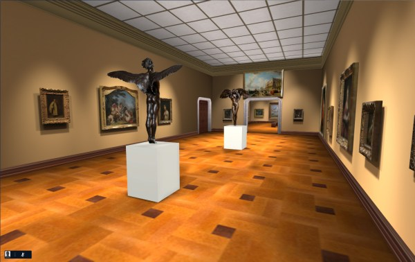 Virtual Art Museum And Collaboration Center