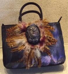 A vintage type handbag.
