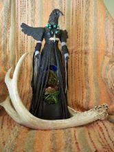 Raven spirit doll