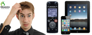 Which digital voice recorder or iPhone iPad app is best for use with Dragon NaturallySpeaking