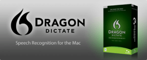 Using Dragon Dictate for Mac to type real time speech to text voice recognition