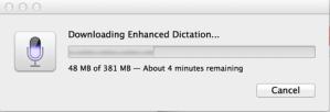 Enhanced Dictation Mavericks Language Download