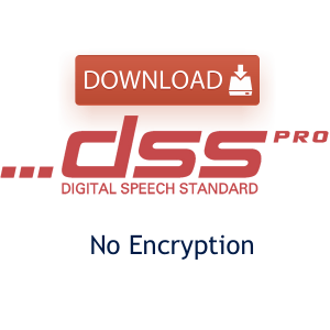 DS2 Sample Audio File Download - No Encryption