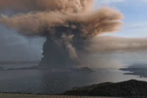 Thousands evacuated as restive Philippine volcano rumbles
