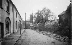 Worcester Place - today just a lane from Welcome Lane towards the Castle Keep