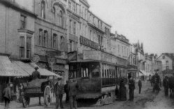 Opposite the Cameron 1905