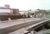 River Tawe Swansea 1964 new cut bridge