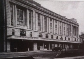 The Plaza Cinema in Gower Street Swansea around 1930