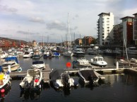 Swansea Marina (old South Dock)
