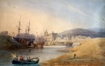 Painting - Swansea ferry