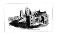 Plas House on site of castle gardens Swansea 1520