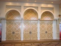 Ballroom Entrance Doors