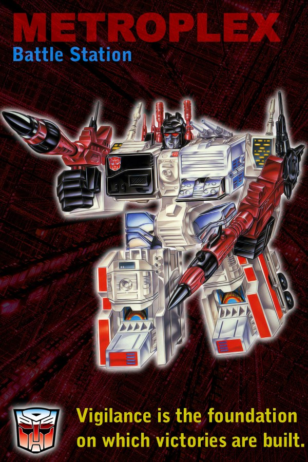 Printable G1 Autobot Vertical Trading Cards 6 X 4