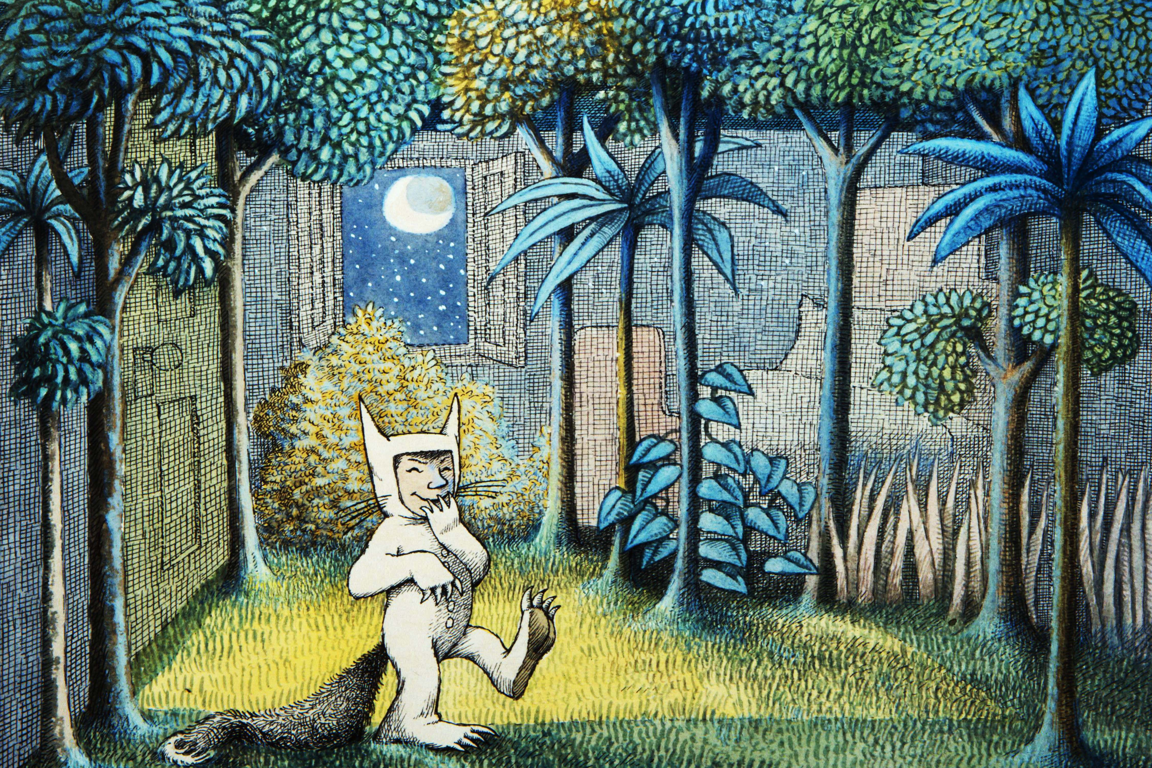 Printable Where The Wild Things Are Placemats 12 X 18 And Photos 6 X 4 Digital Citizen