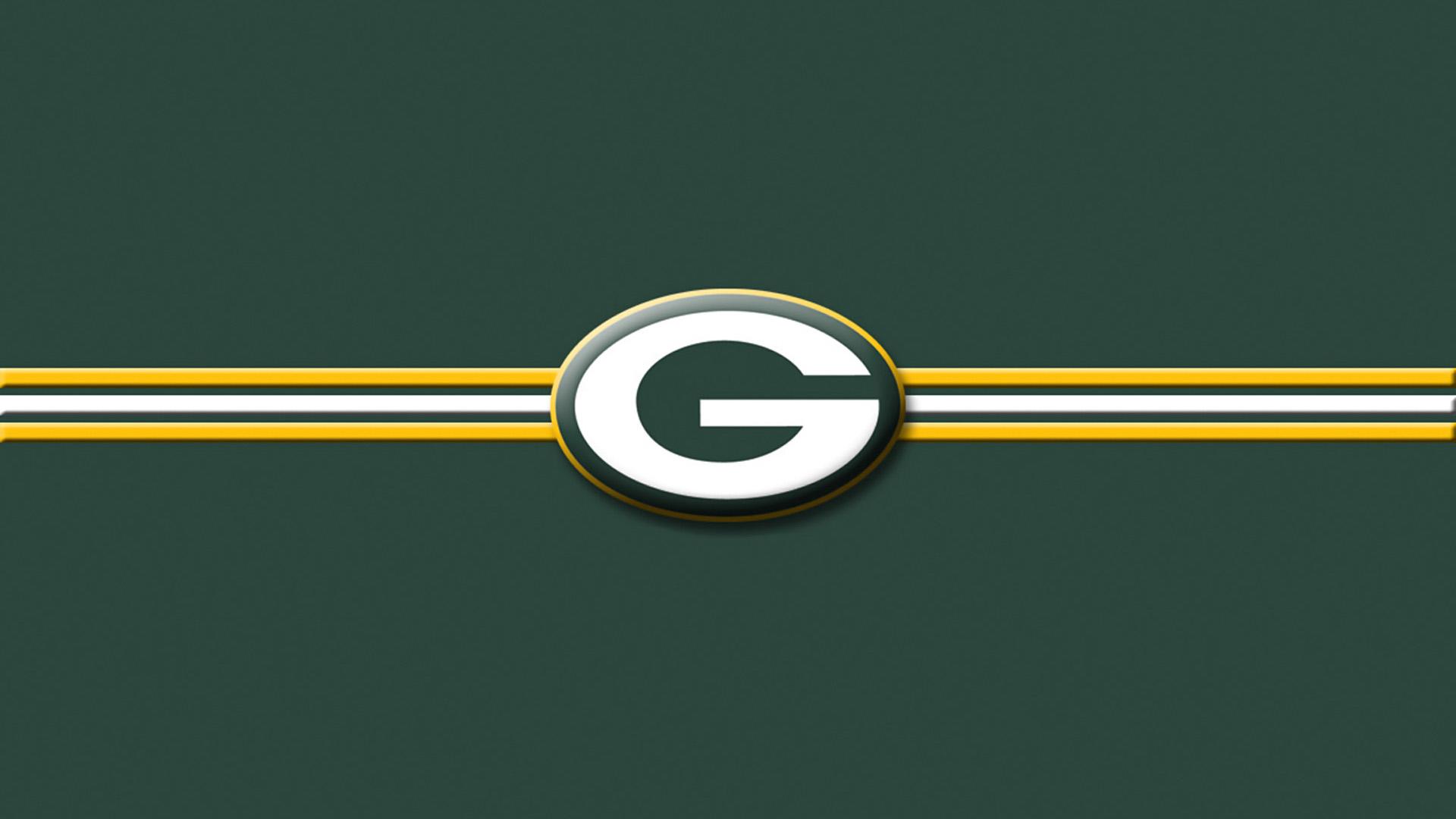 Green Bay Packers Iphone X Wallpaper Green Bay Packers Striped Logo Green 1920 215 1080 Digital
