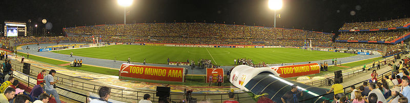 "Estadio ""Pachencho"" Romero de Maracaibo."