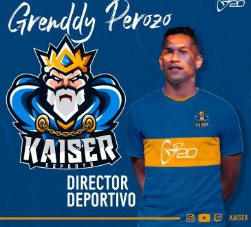 Grenddy Perozo está al frente de Kaisersports.