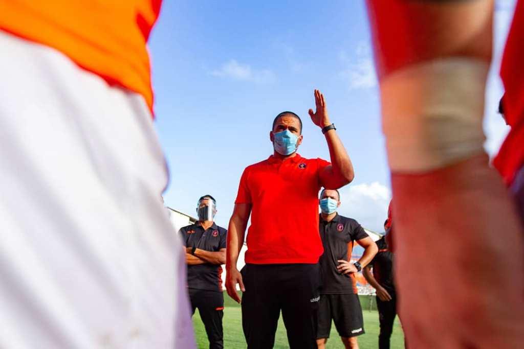 Daniel Farías, DT del Deportivo La Guaira.