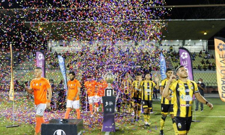 Final de la Liga Futve.