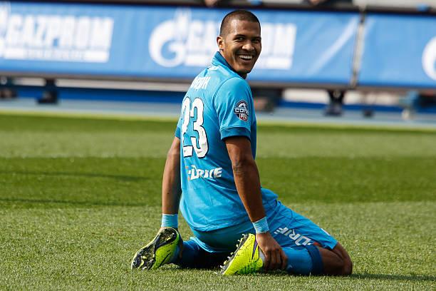Salomón Rondón con el Zenit.