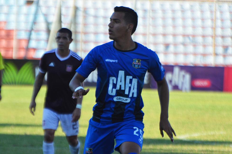Junior Paredes, delantero del Zulia FC