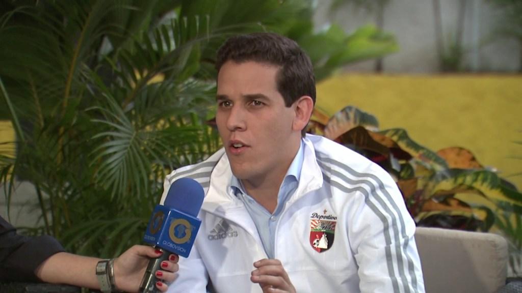 Jorge Giménez, presidente del Deportivo Lara y candidato a la FVF