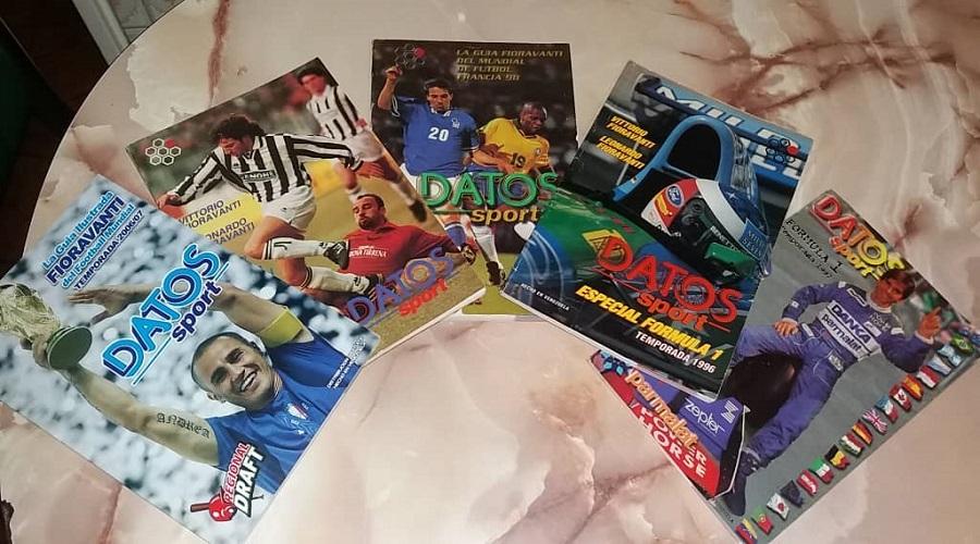 Guías Datos Sport, elaboradas por Vittorio Fioravanti