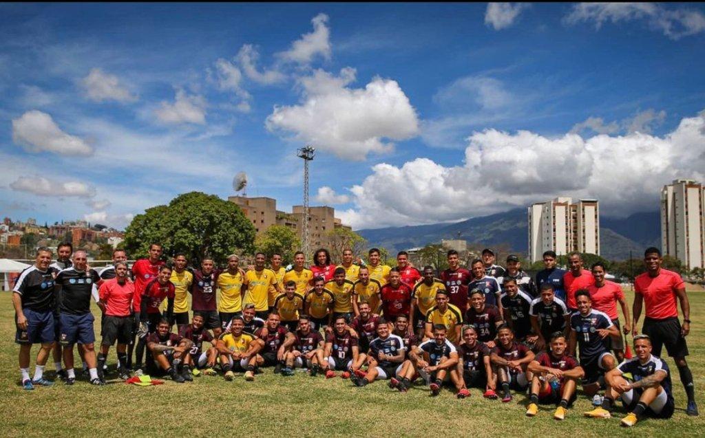 Concentración de la Vinotinto en Caracas