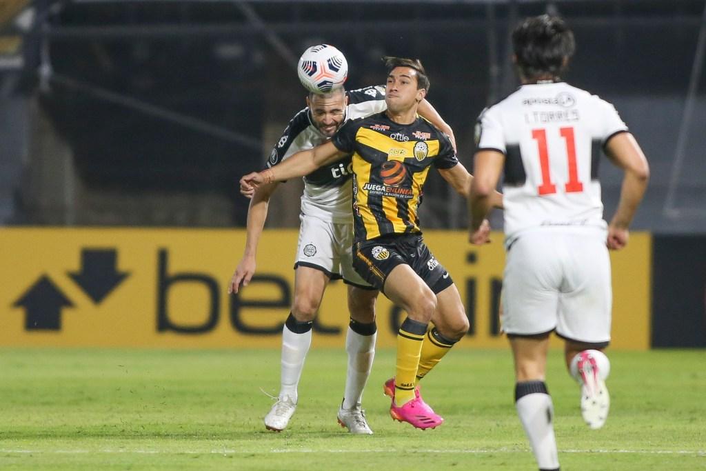 Olimpia 6-2 Deportivo Táchira en Copa Libertadores