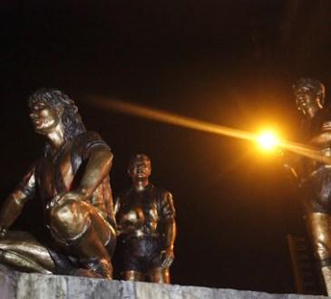 Estatuas de las glorias del Táchira en San Cristóbal
