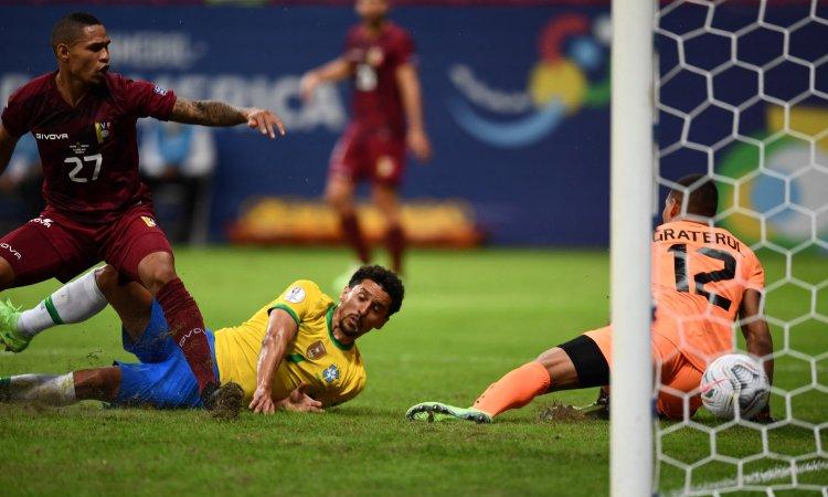 Brasil vs Venezuela en Copa América