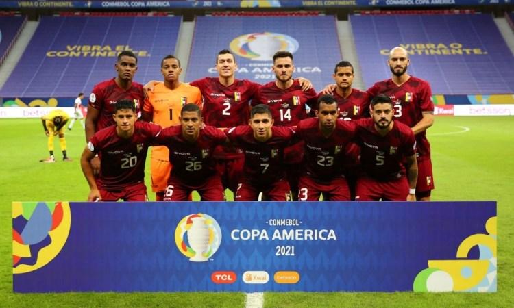 Venezuela vs Perú en la Copa América