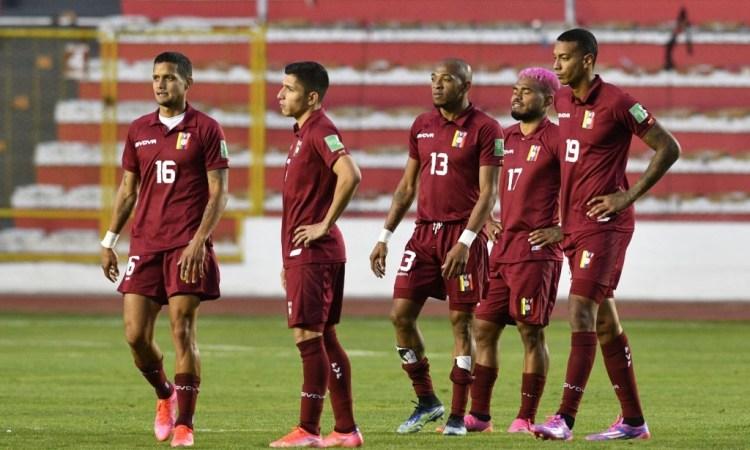 Venezuela cayó 3-1 ante Bolivia en La Paz, por las Eliminatorias a Qatar 2022