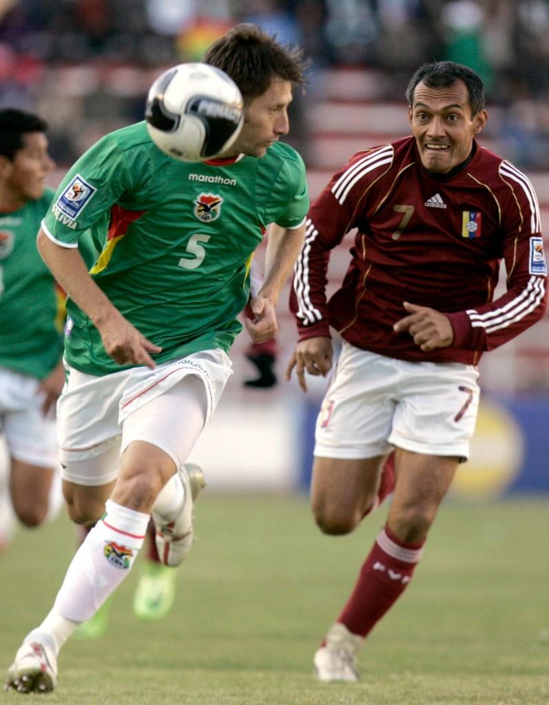 Juan García vs Bolivia en La Paz, 2009