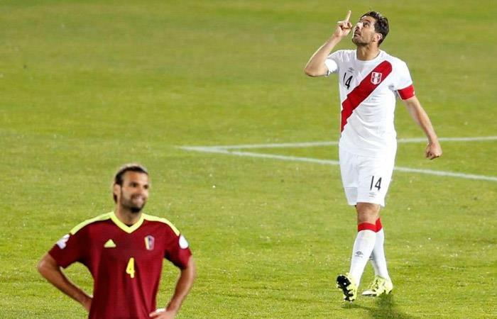 Venezuela vs Perú en Copa América 2015