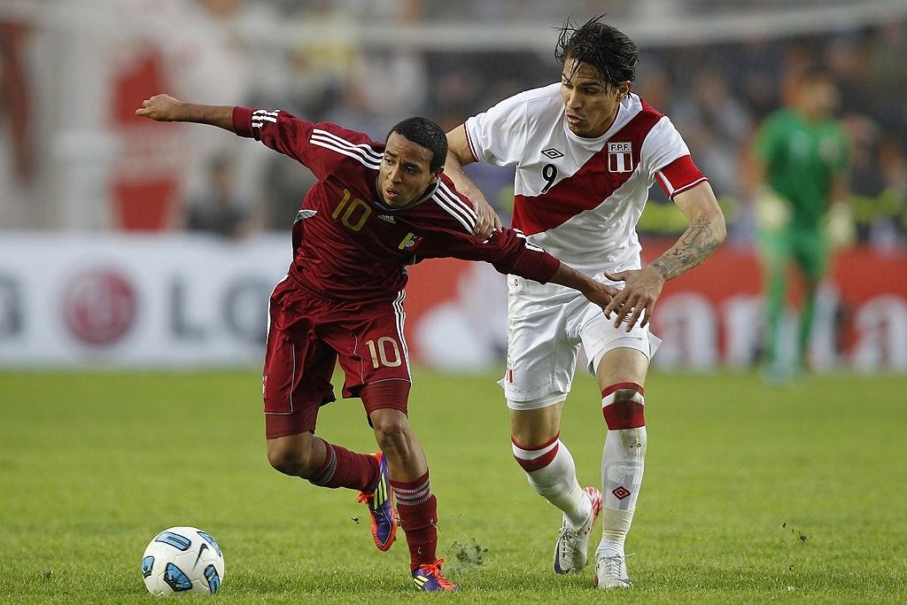 Yohandry Orozco en la Copa América 2011
