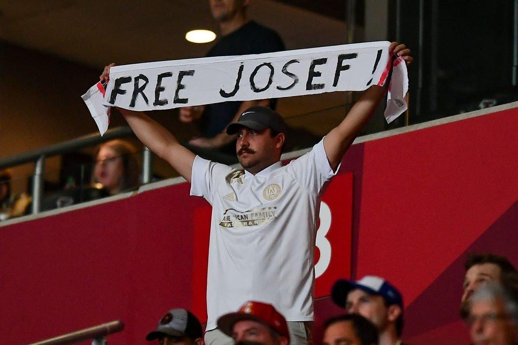 El apoyo de los fanáticos del Atlanta United a Josef Martínez