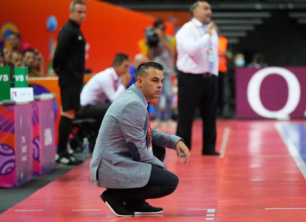 Freddy González, DT de Venezuela en el Mundial de Futsal de Lituania