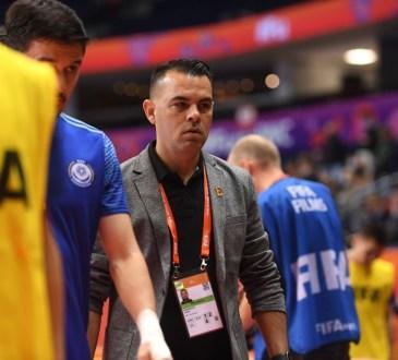 Freddy González, DT de Venezuela en el Mundial de Futsal