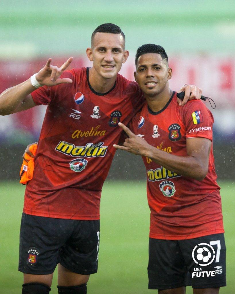 Miguel y Richard Celis - Foto Liga Futve