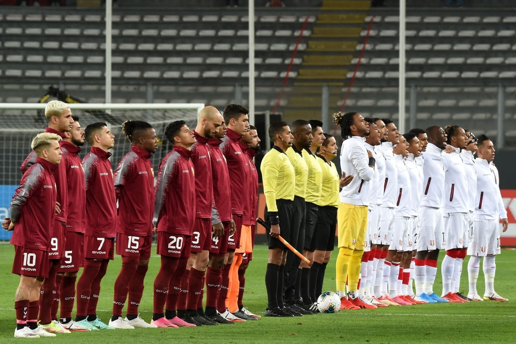 Venezuela ante Perú en las Eliminatorias a Qatar