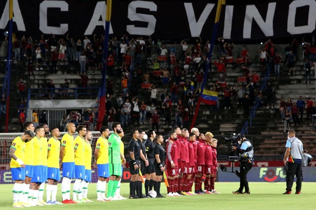 Venezuela 1-3 Brasil