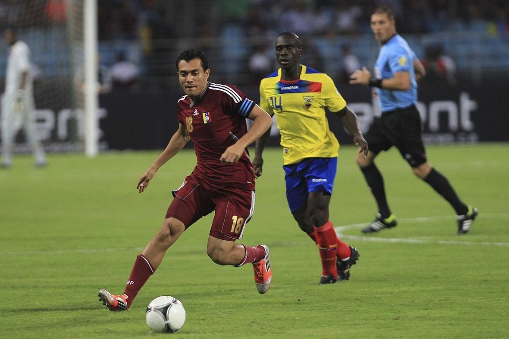 Juan Arango, la leyenda de Venezuela, en un duelo ante Ecuador por las Eliminatorias a Brasil 2014