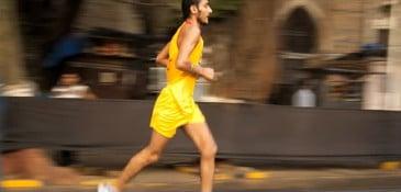 Aula de inglês - correndo