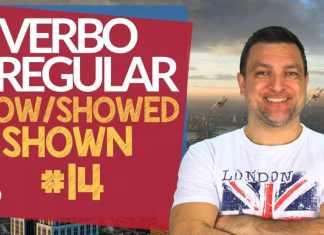verbo irregular show