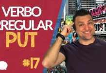 verbo irregular put